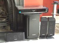 Panasonic blue ray player home cinema system