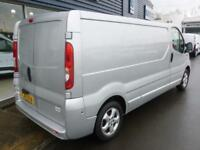 2013 Vauxhall VIVARO 2900 CDTI SPORTIVE LWB 115ps Van *SILVER* Manual Medium Van