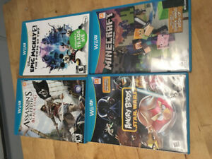 Wii u games for sale