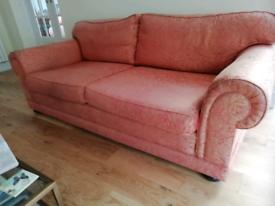 Pair of lovely handmade sofas FREE