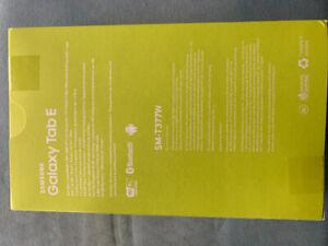 Samsung Galaxy Tab E Brand New in Box $329 Retail