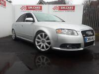 2004 54 AUDI A4 2.0TDI S-LINE.GREAT LOOKING CAR,LOWERED AND REMAPPED.HUGE SPEC .