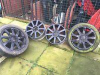 VW/Audi 5x100 rs alloys