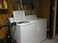 Moffat Washer ad Dryer, only 1 year old! Great condition!