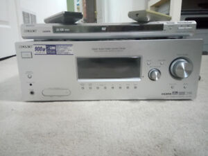 Sony Amplifier/Receiver 900w with free DVD player