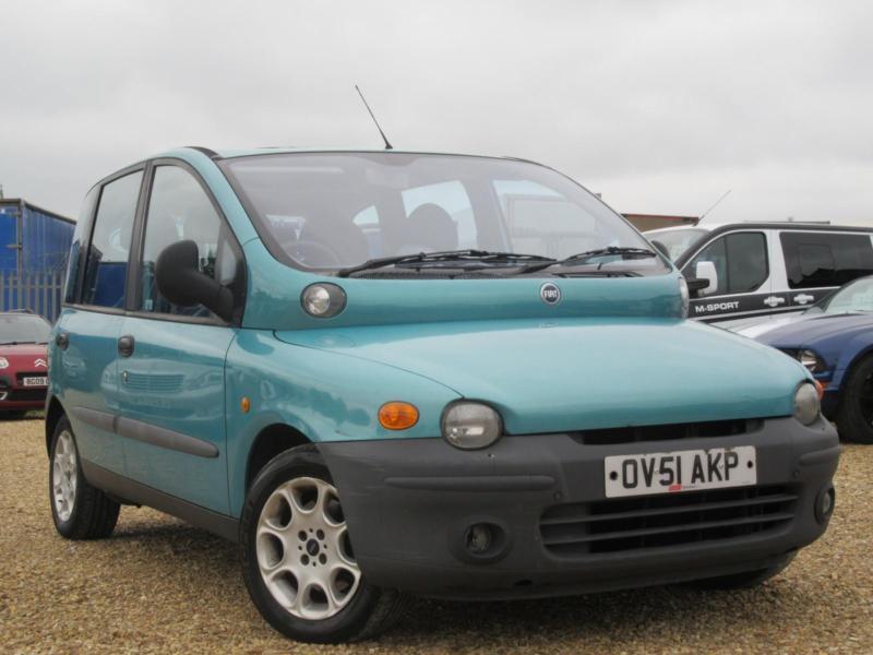 Fiat Multipla 1 9 Jtd 110 Elx