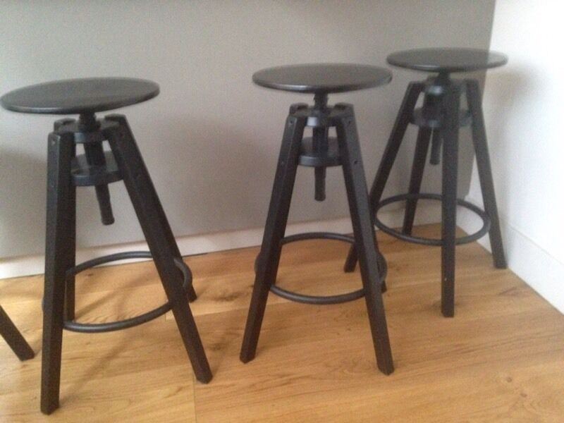 5 bar stools ikea dalfred 15 each in camberwell london gumtree. Black Bedroom Furniture Sets. Home Design Ideas