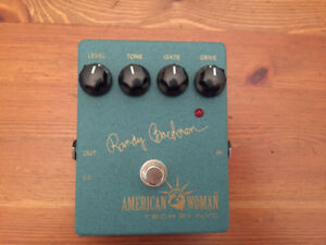 Tech 21 Randy Bachman American Woman Overdrive Pedal $85