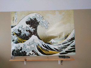 "Huge poster of ""the wave"""