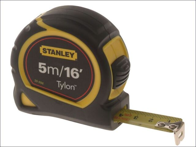 Stanley Tools - Pocket Tape 5m/16ft (Width 19mm) Carded - 0-30-696