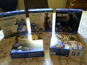 Sealed PS VITA collection