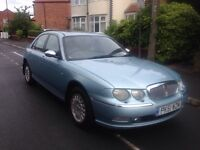 Rover 75 connoisseur 2.5 v6 petrol -sat Nav , heated memory leather - every extra !