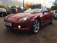 2006 Mazda RX-8 1.3 Evolve 231psi *63k MILES* Full Service History 2 Keys