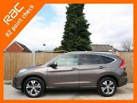2014 Honda CR-V 2.0 i-VTEC SR Auto 4x4 4WD Rear Cam Bluetooth DAB Full Leather/S
