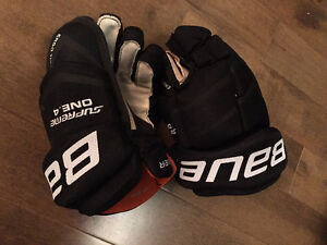 Bauer Supreme One.4 Junior Gloves - Size 10""
