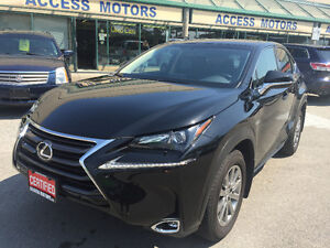 2015 Lexus NX200t, Black on Black