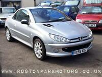 2006 PEUGEOT 206 1.6 CC good history new 2017 MOT