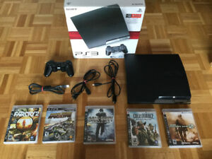 *Ps3 160 - manette Sony dualshock 3 - jeux: call of duty..-125$