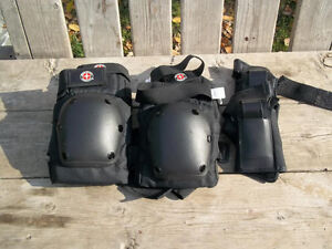 Excellent Condition: 2 Pairs Of Knee Pads, 1 Pair Of Hand Pads