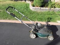 Yardworks Cordless Self-Propelled Lawn Mower