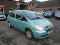 Citroen Xsara Picasso 2.0HDi 90hp Exclusive - 1 YEAR MOT & AA COVER
