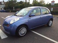 2004 Nissan Micra SE AUTO Rare keyless system BLUE