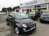 2015 Fiat 500 1.2 Lounge (s/s) 3dr