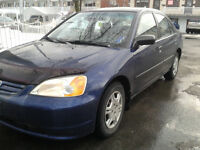 2001 HONDA CIVIC AUTOMATIQUE