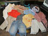 Lot boy clothes in exchange for girl clothes