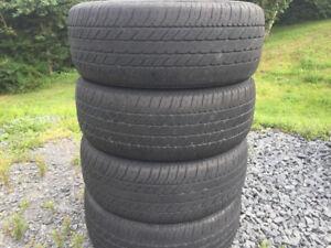 Four 205/60R15 Summer Tires