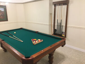 Pool Table - Brunswick like new!