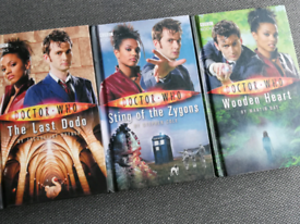 3 Doctor Who Books