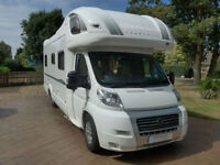 Bessacarr E765 S Low-line 2008 4 Berth Coach built RHD Motorhome with Rear Fixed