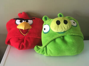 Couvertures a capuchon - Angry Birds