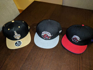 Toronto Raptors Brand New Hats Snap Backs and Maple Leafs