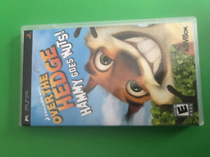 Over The Hedge PSP Game