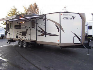 Rockwood 2715vs couples trailer, rear living, thermo panewindows