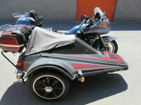Venture Royale with sidecar