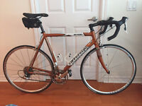 Cannondale Aluminum R700 Road Bike + CycleOps Fluid 2 Trainer