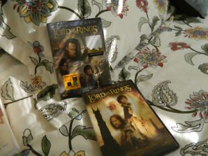 Two LORD OF THE RINGS dvds