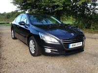 PEUGEOT 508 2.0 DIESEL 2011. SAT NAV. 1 YEARS MOT. FULL MAIN DEALER HISTORY. ONLY DONE 81k.