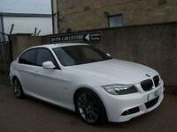 "11 61 BMW 318I 2.0 SPORT PLUS 4DR WHITE HEATED LEATHER BLUETOOTH 18""ALLOYS FSH"