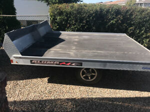 Alum. Sled trailer