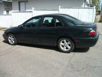 *Insurance inspected* 1997 Cadillac Catera 3.0L V6 black leather