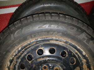 Winter Tires  AND  Rims For Sale  185/65R/15