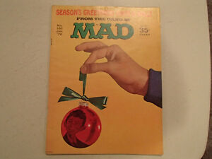 Mad Magazine No. 132 - Jan 70 - Season's Greetings! Have a Ball! Sarnia Sarnia Area image 1