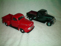 DIECAST 1948 FORD F100 & 1937 FORD PICKUP TRUCKS