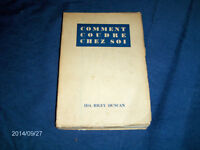 COMMENT COUDRE CHEZ SOI-IDA RILEY DUNCAN-1945-SEWING BOOK