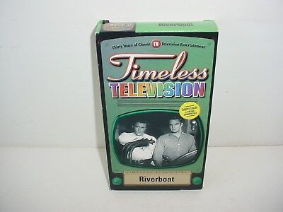 Riverboat Timeless Television Forbidden Island VHS Video Tape Movie