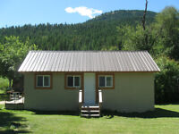 Slocan, BC Small one Bedroom house with laundry room